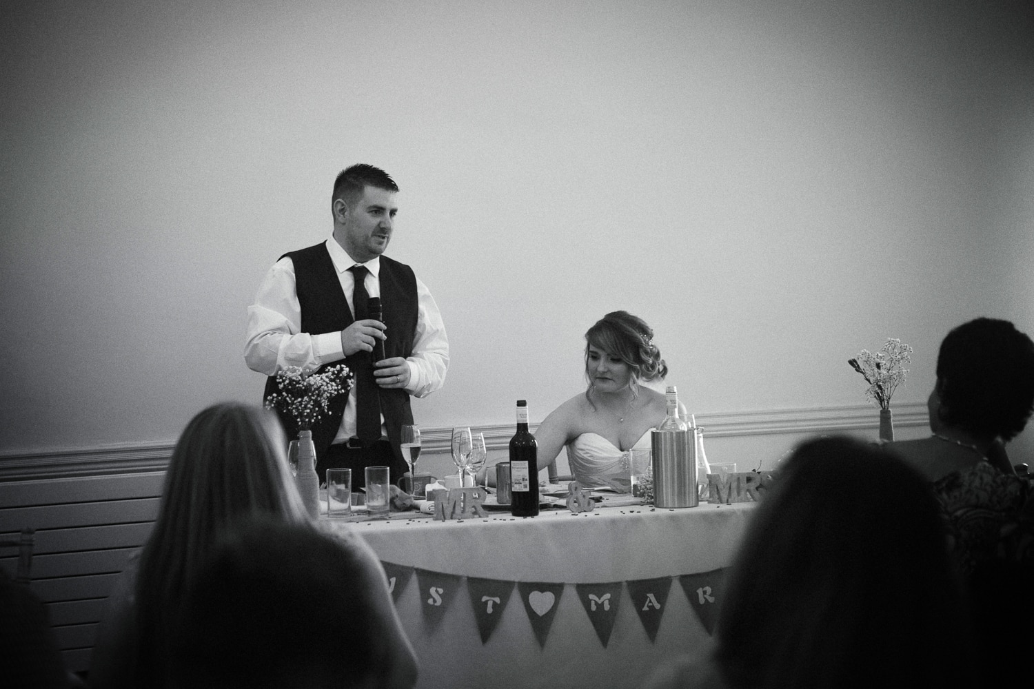 Hexham Abbey Wedding speeches