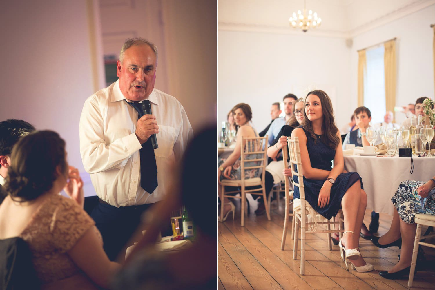 Hexham Abbey Wedding, speeches