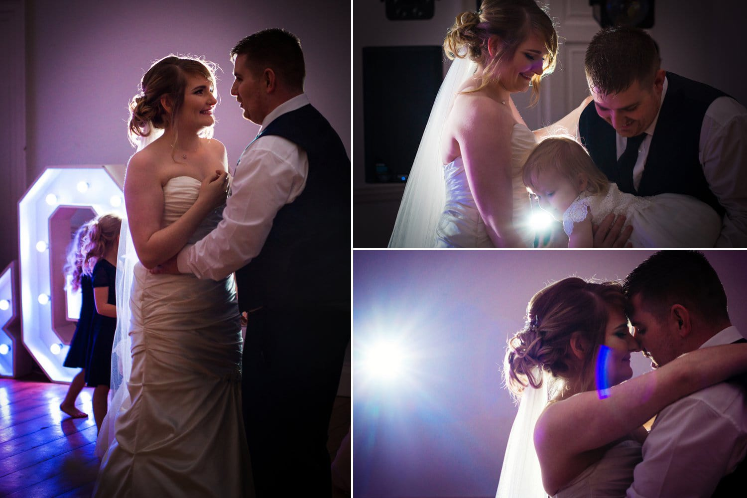Hexham Abbey Wedding, first dance