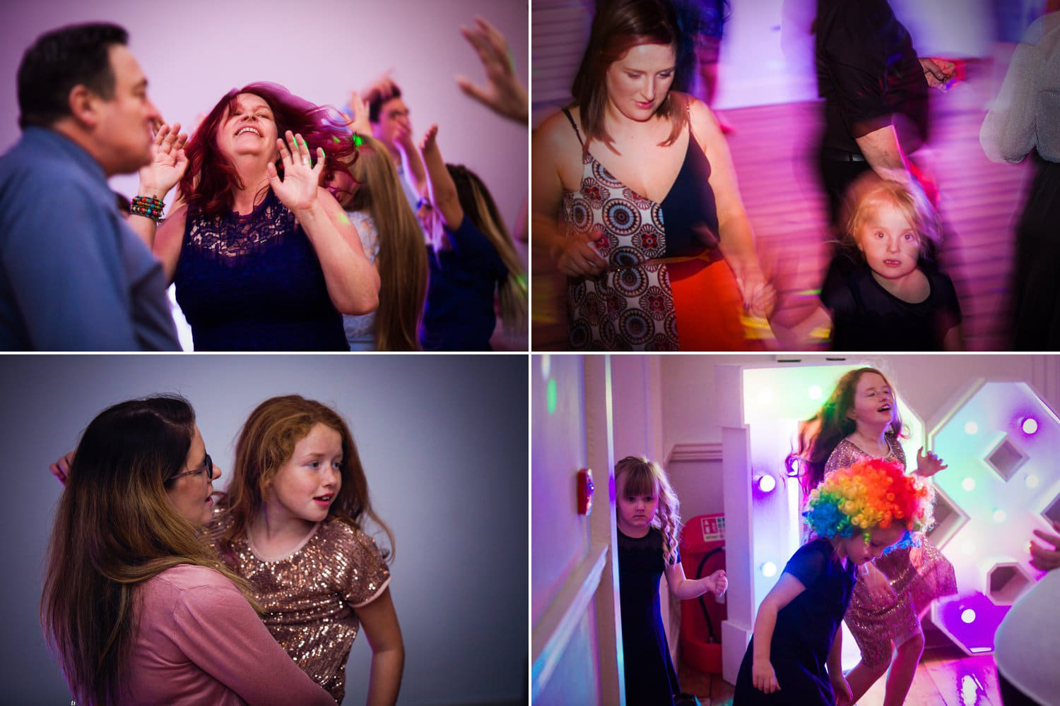 Hexham Abbey Wedding, dance floor fun