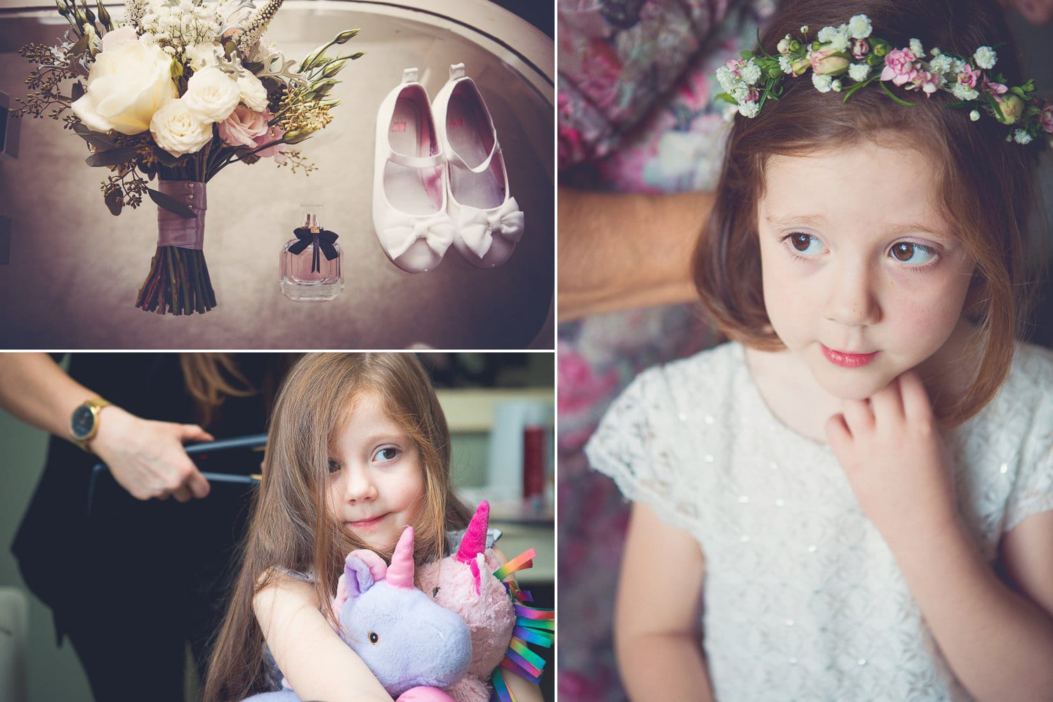 The Old Deanery Wedding, flower girl