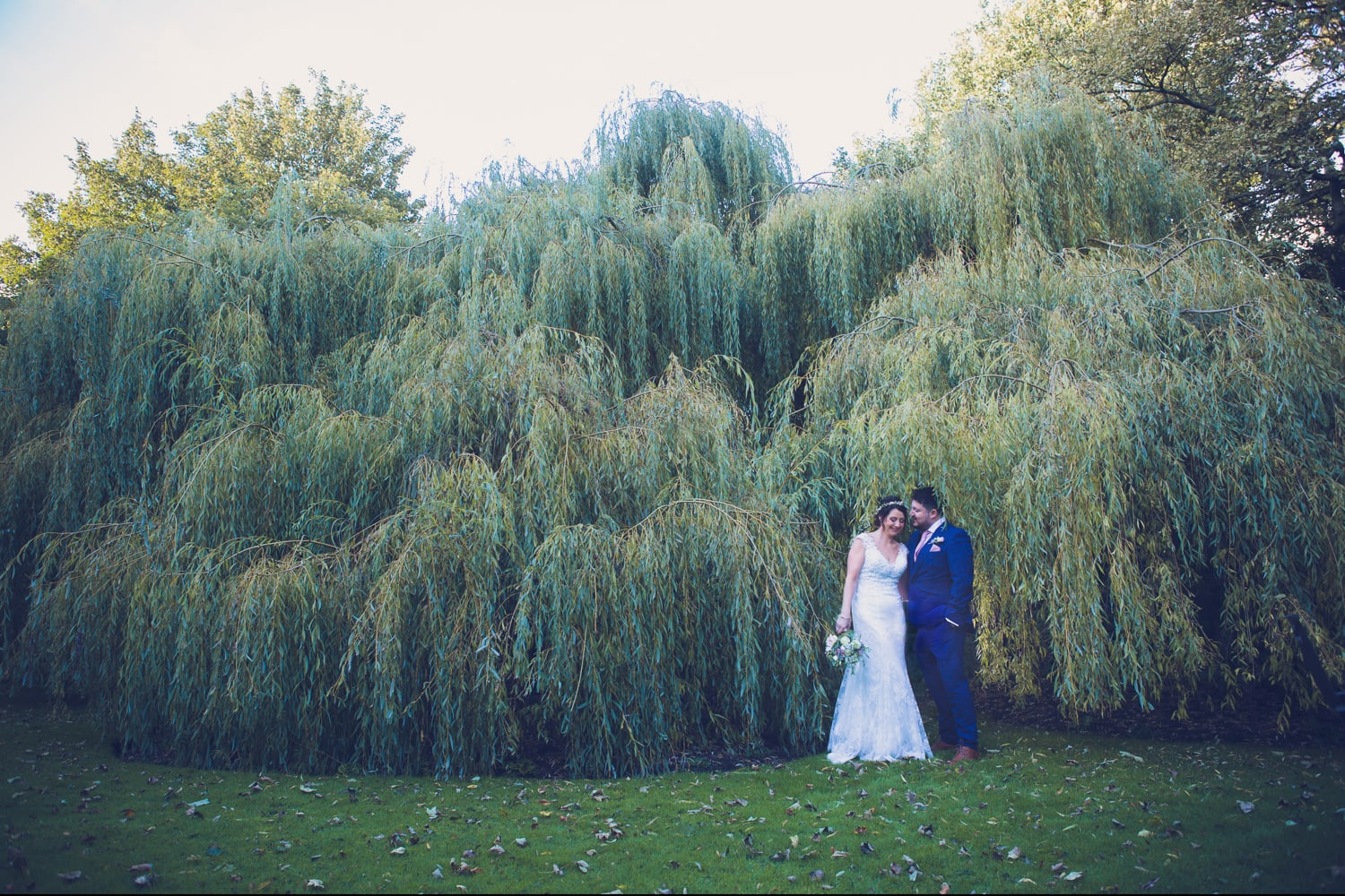 The Old Deanery Wedding willow tree