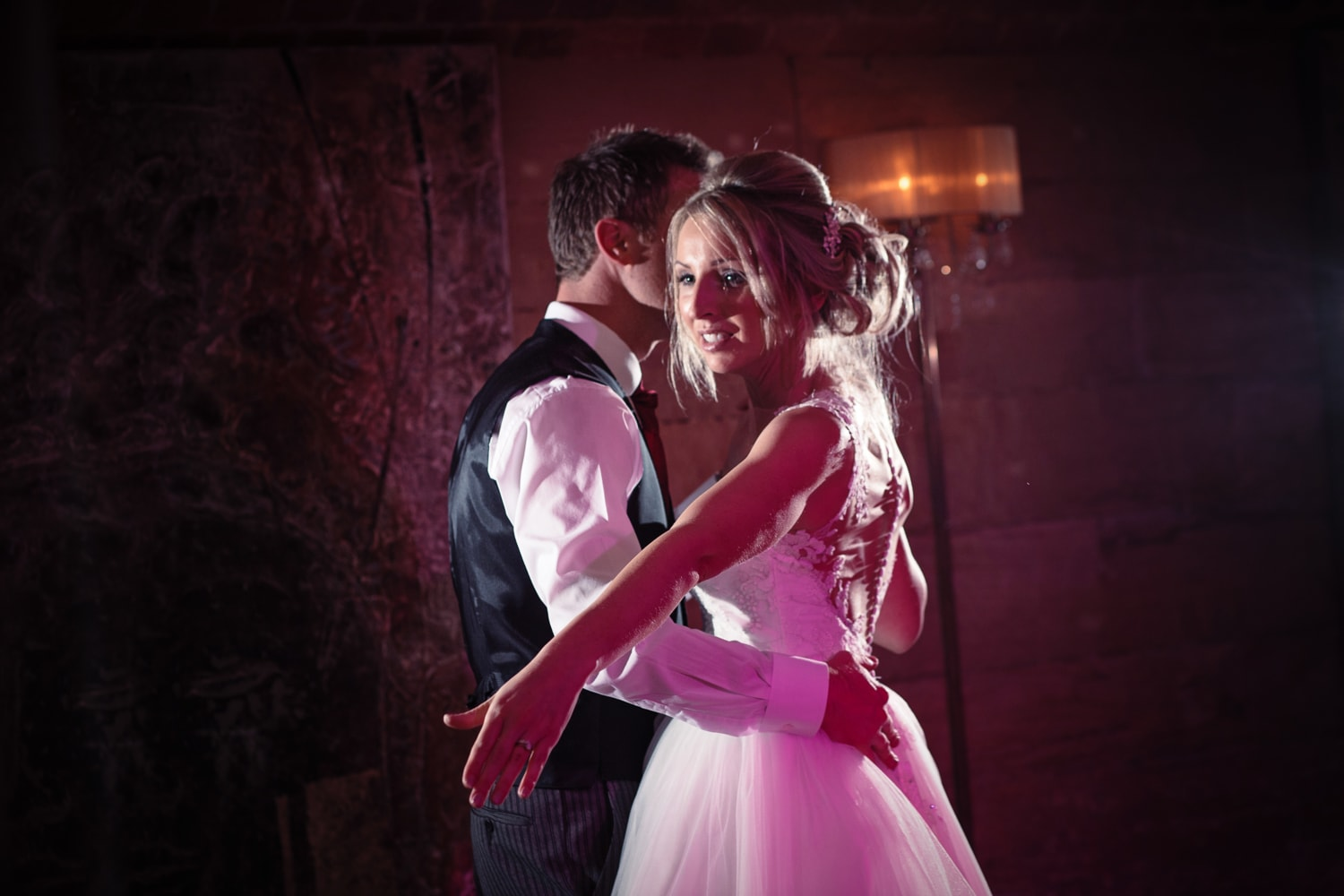 Matfen Hall, couple on dance floor