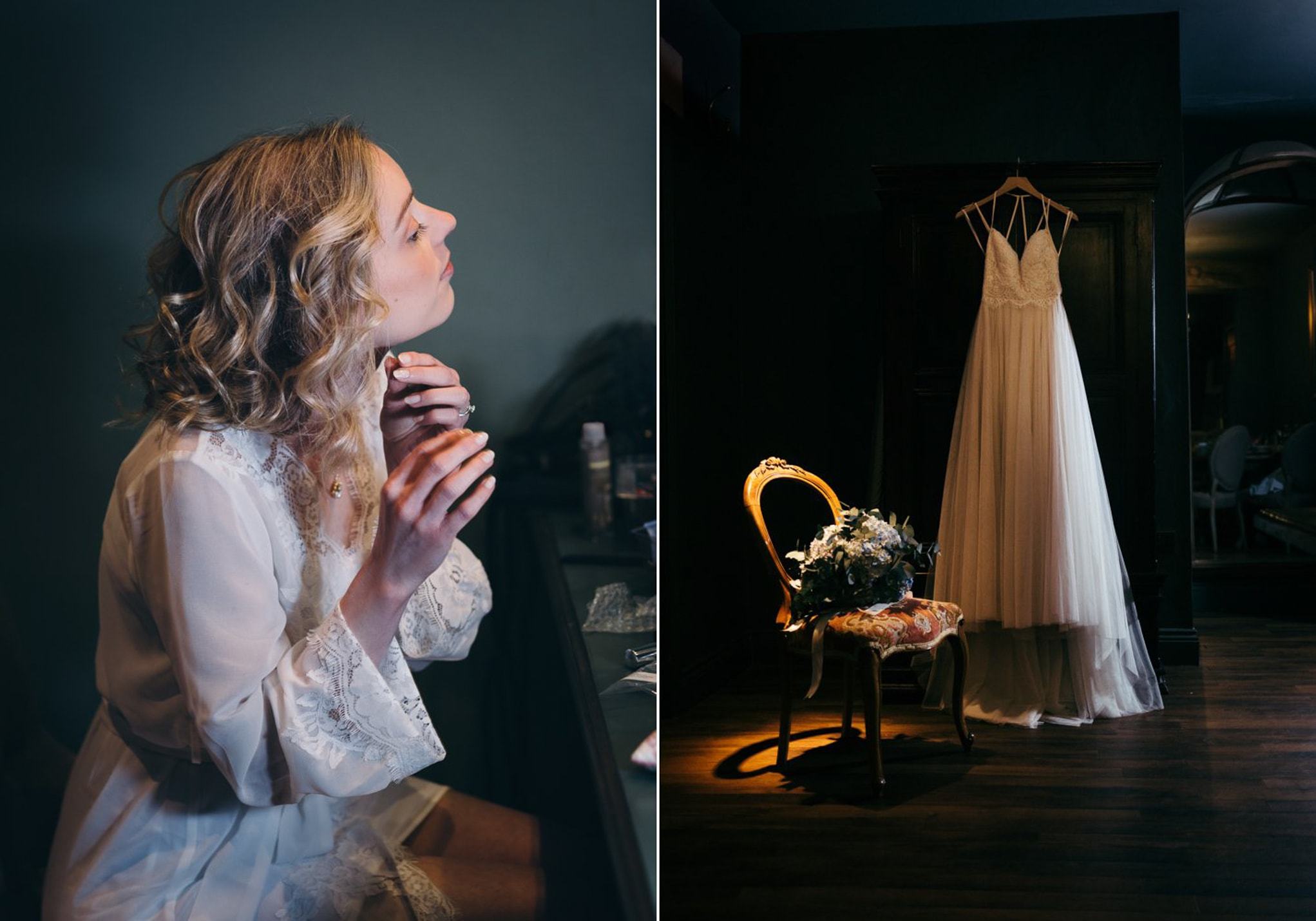 Le Petit Chateau, dress and bride