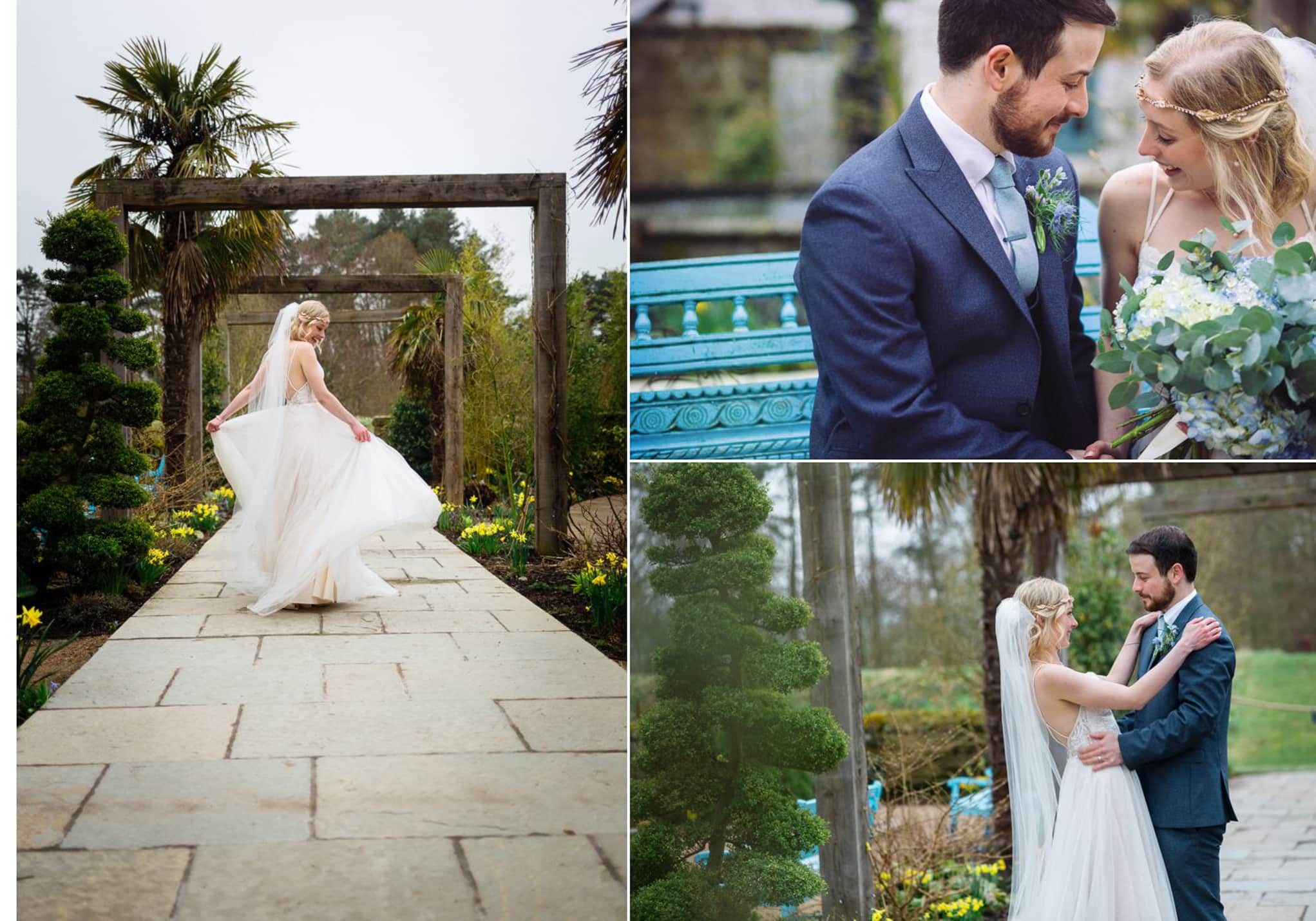Le Petit Chateau, romantic spring wedding
