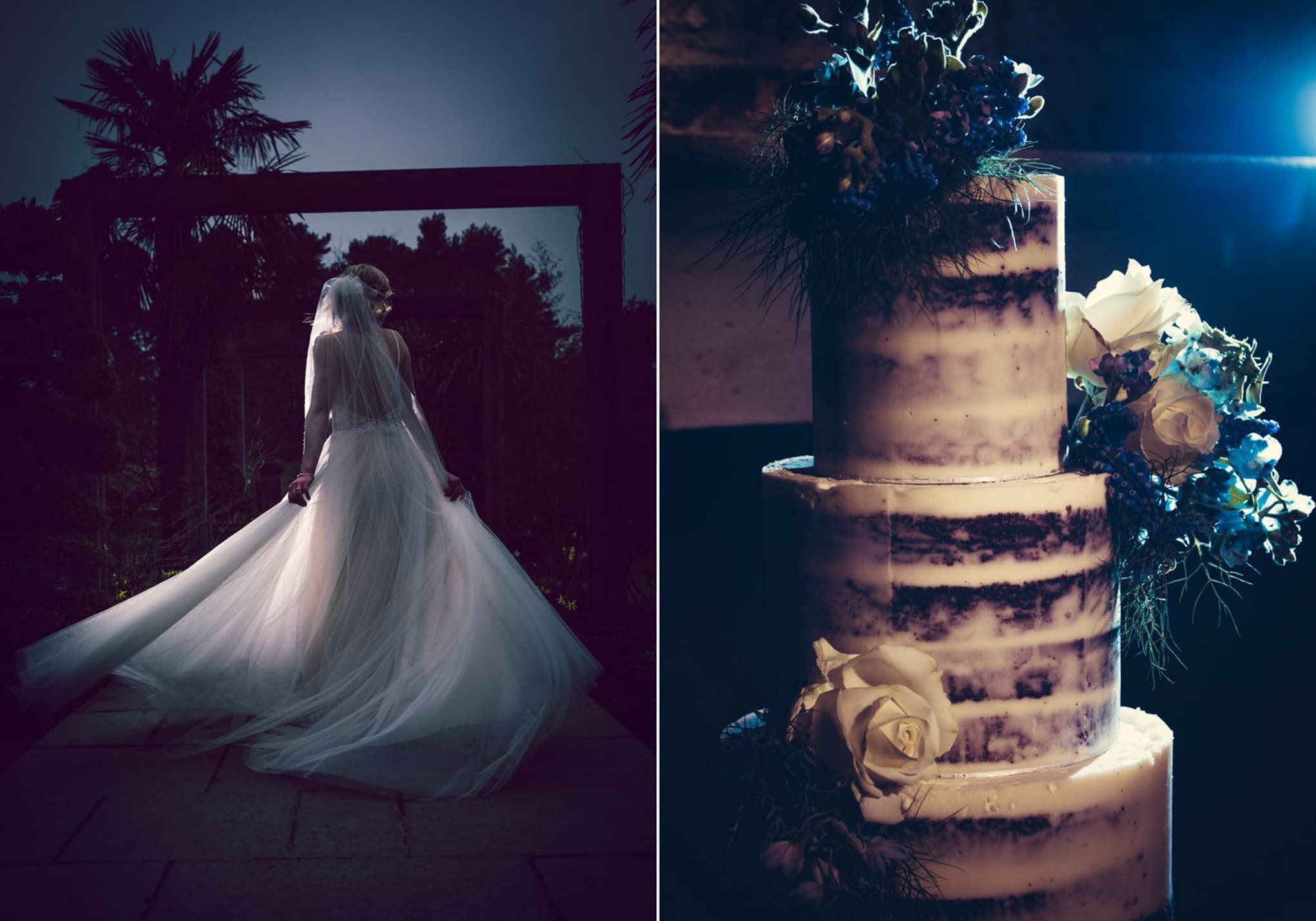 Le Petit Chateau, moody cake and dress