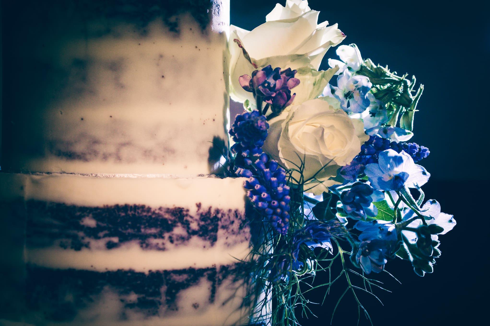 Le Petit Chateau, backlit cake